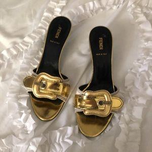 Fendi Slide Heels
